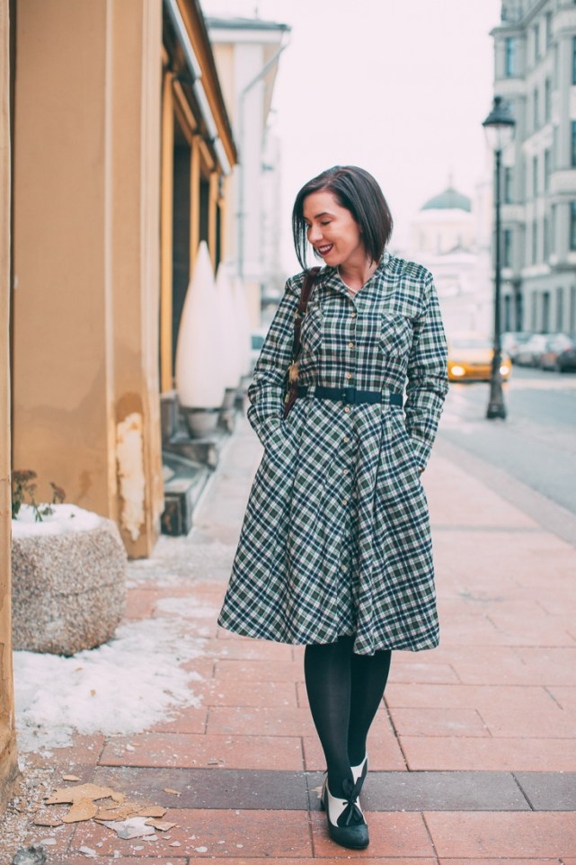 Tatyana Boutique Miranda Flannel Dress
