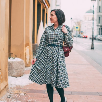 Why You Need a Flannel Dress in Your Wardrobe