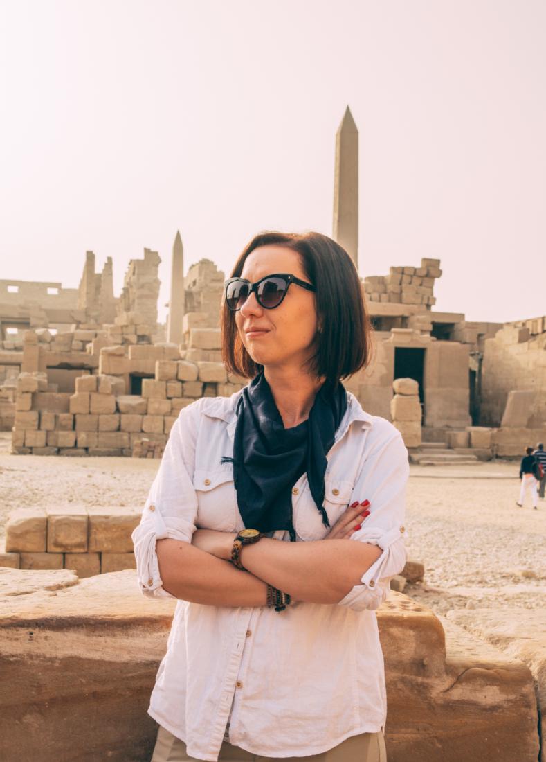 Egyptian cotton scarf