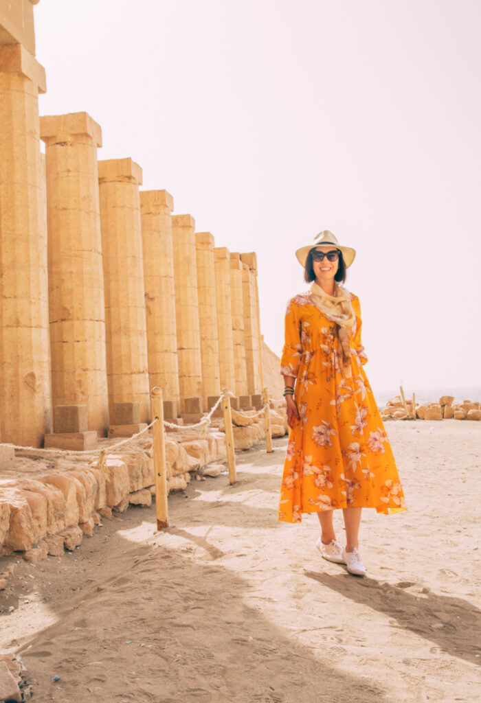 How to Dress Comfortably Yet Stylishly for the Heat in the Valley of the Kings (Luxor, Egypt)
