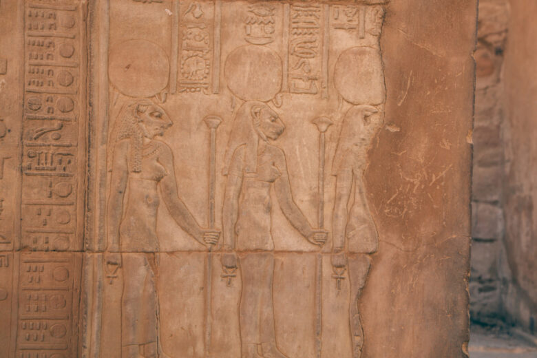 Depicting the 3 seasons of Ancient Egyp
