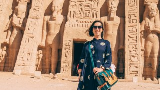 Outfit Idea for Visiting Abu Simbel