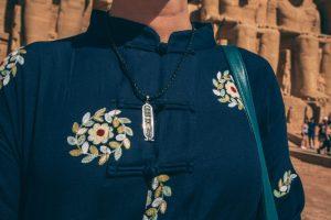 Hieroglyphics necklace
