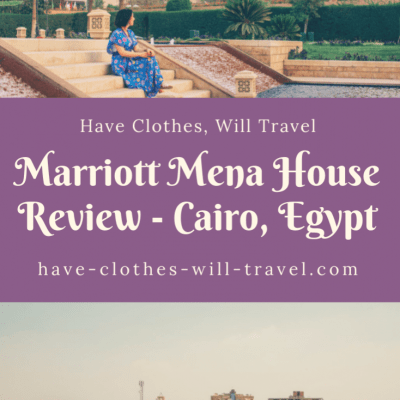 Marriott Mena House Honest Review – Cairo, Egypt