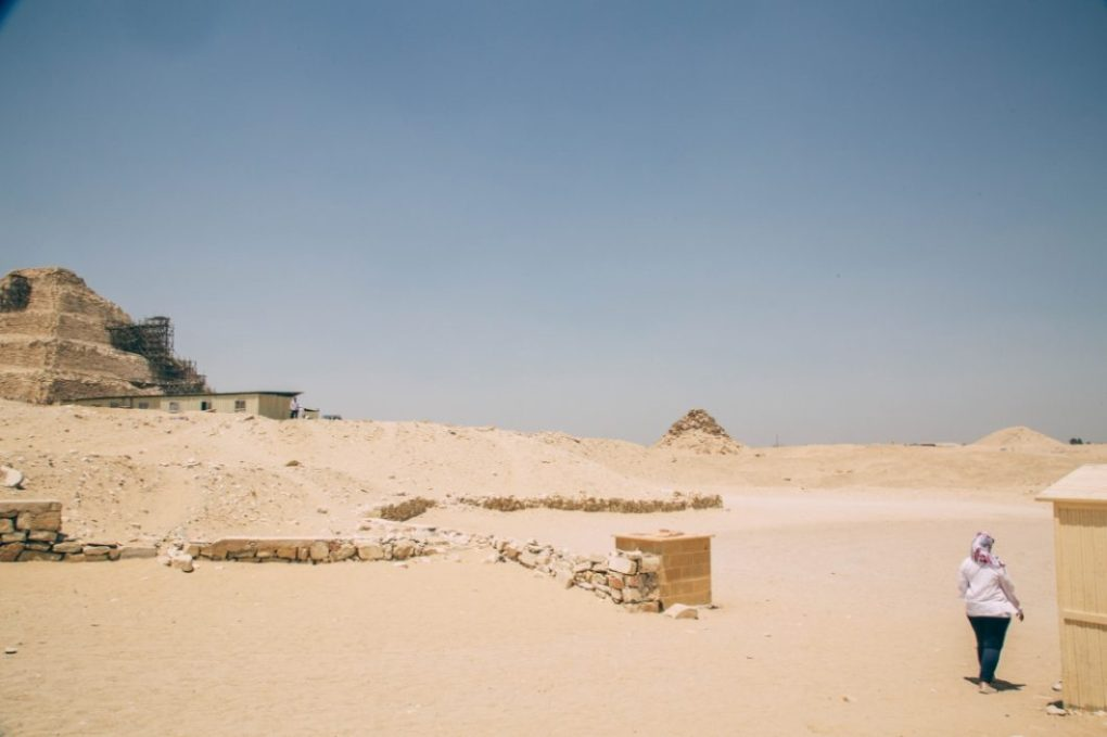 More Pyramids Near Cairo - Saqqara (Djoser's Step Pyramid) + Ancient City of Memphis