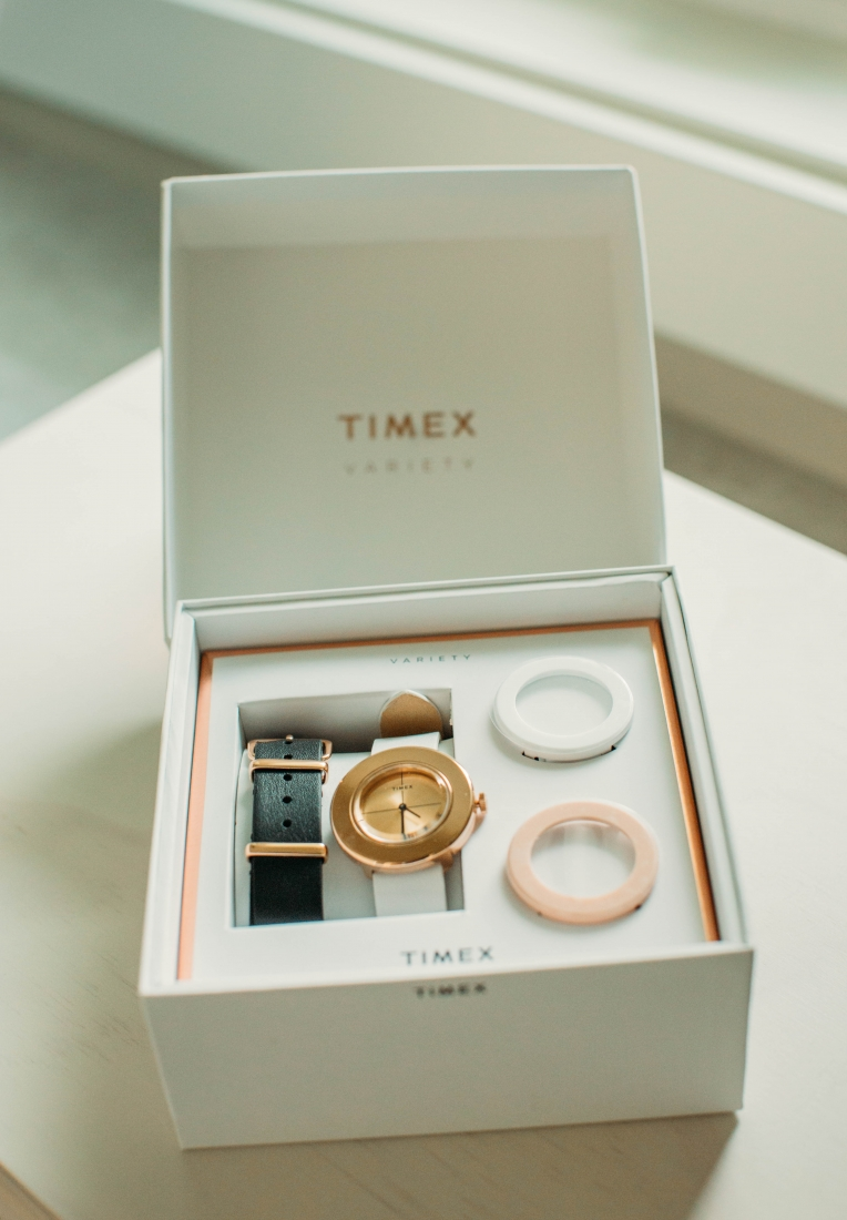 Styling a Timex Variety Watch from a Traveling Outfit to a Formal Event