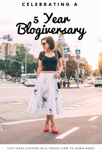 My 5 Year Blogiversary + Giveaway