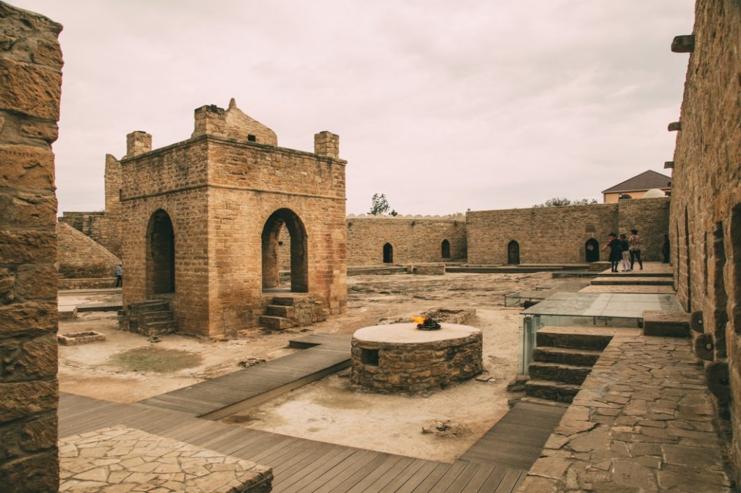 Baku, Azerbaijan – Cool Day Trip to Take to Gobustan, Fire Mountain & Fire Temple