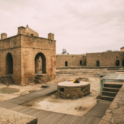 Baku, Azerbaijan – Cool Day Trip to Take to Gobustan, Fire Mountain & Fire Temple