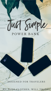 Just Simple – A Power Bank Designed for Travelers