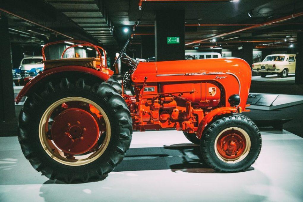 Literally the Porsche of tractors...