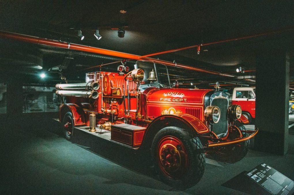 Seagrave fire truck