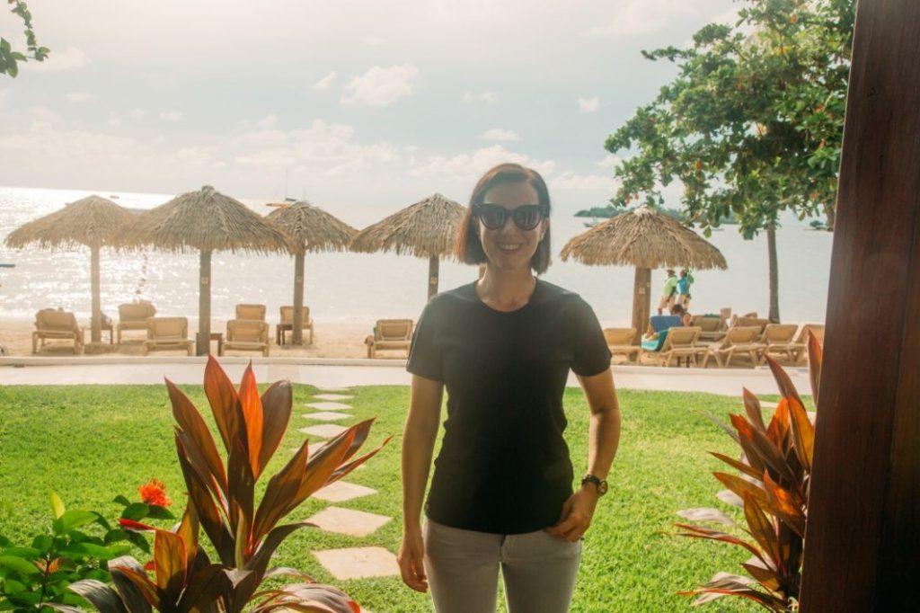 In Jamaica!!