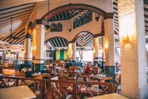 Sandals Negril Breakfast Dining Area