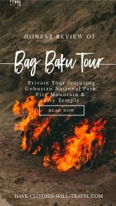 Bag Baku Tour Review