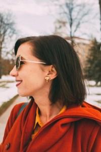 Vincausa earrings