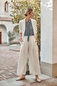 Deslin Pants in White