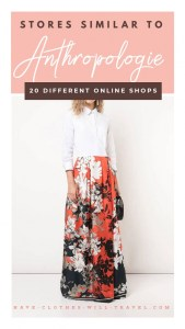 20 Online Stores Similar to Anthropologie