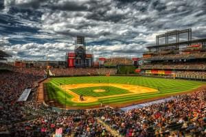 Coors Field in Denver Colorado