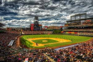 Coors Field in Denver Colorado