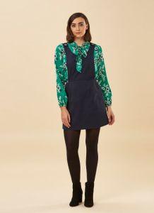 Joanie Clothing Navy Pinafore - ModCloth Europe Alternative