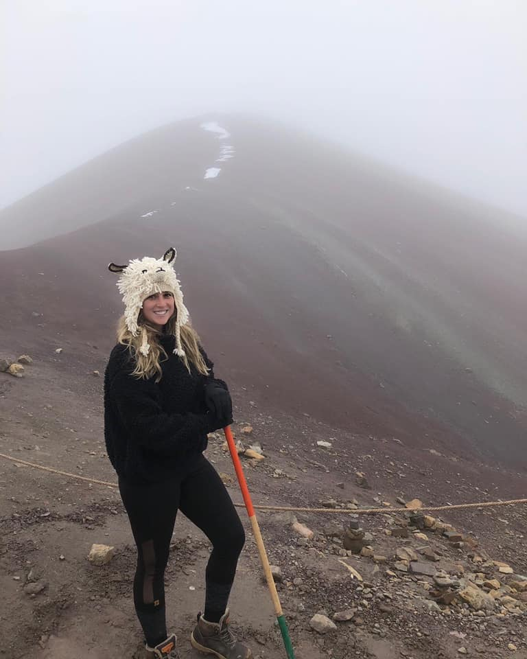 Rainbow Mountain foggy photo funny travel pics