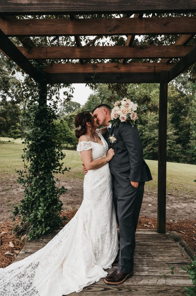 A wedding photo take by Mandy Verbsky of Fortem Photography.