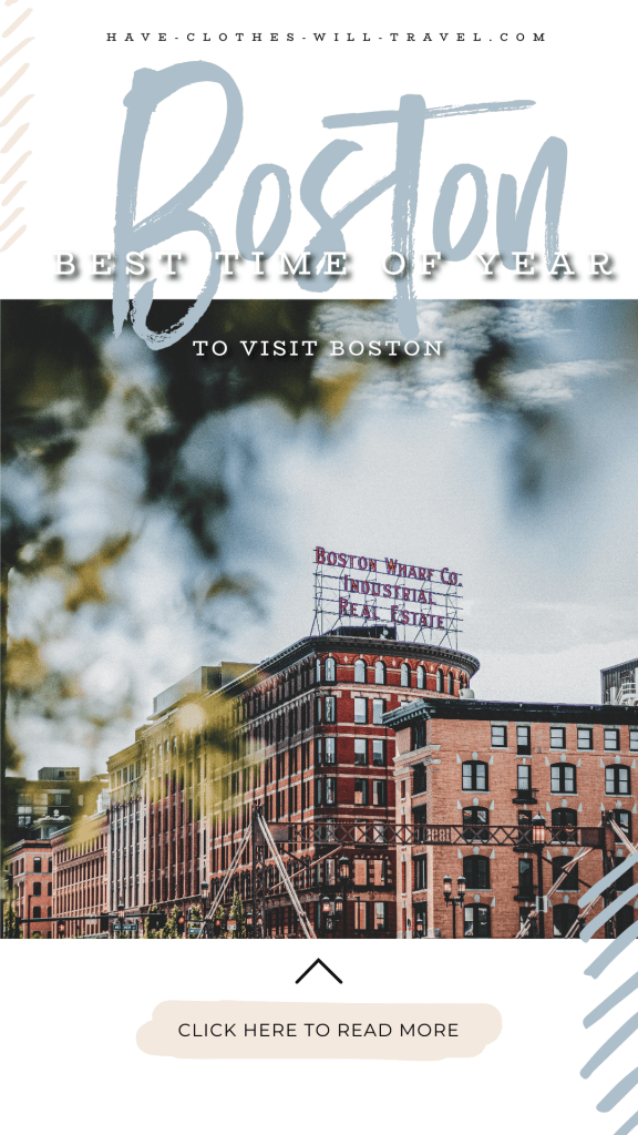 The Best Seasons to Visit Boston
