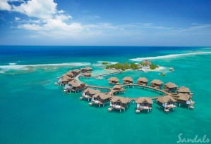 Sandals Royal Caribbean one of the best overwater bungalows in the Caribbean