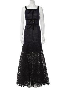 OSCAR DE LA RENTA 2015 Long Dress Size: L   US 10