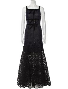 OSCAR DE LA RENTA 2015 Long Dress Size: L | US 10