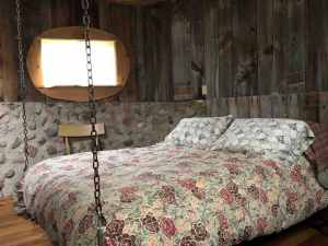 Silo Suite at Inn Greener Pastures