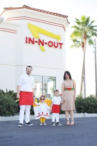 GROUP HALLOWEEN COSTUME DIY // IN-N-OUT BURGER