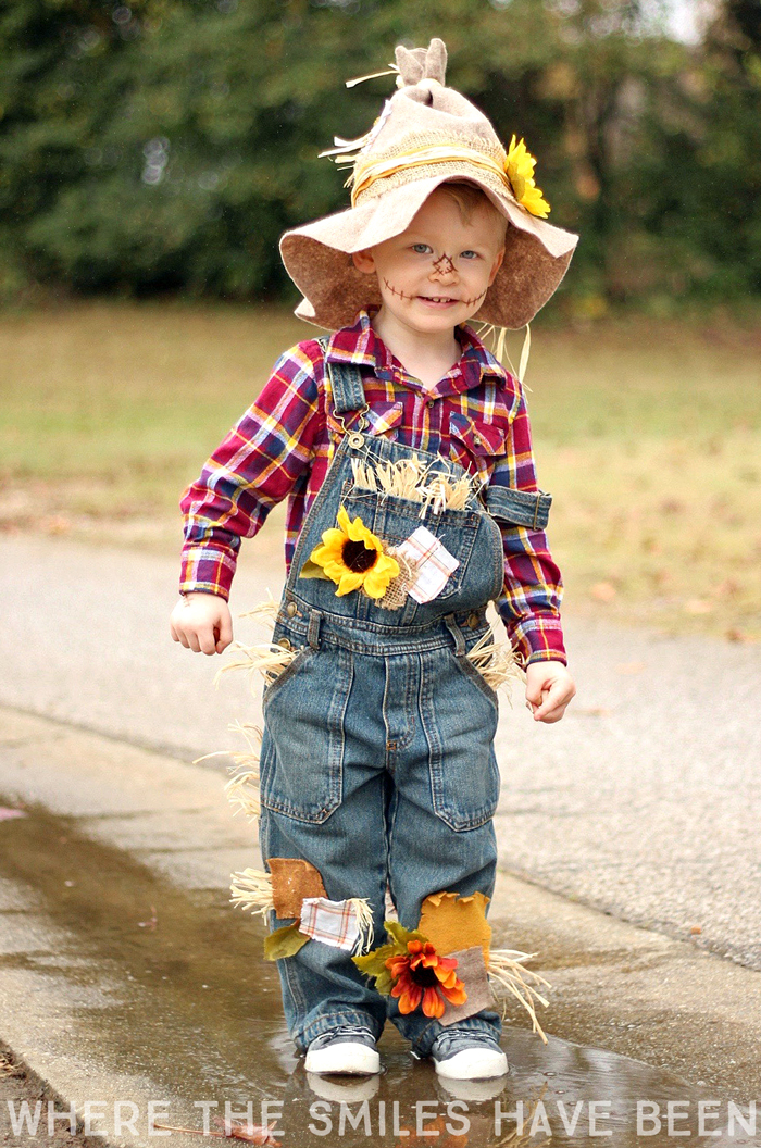 Easy & Adorable DIY Scarecrow Costume for Kids or Adults!