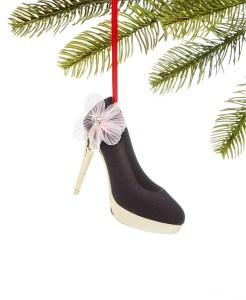 Holiday Lane Fashion Week, Black High Heel Ornament, Created for Macy's