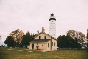 The Cana Island Lighthouse