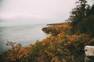 Sven's Bluff Overlook in Peninsula State Park