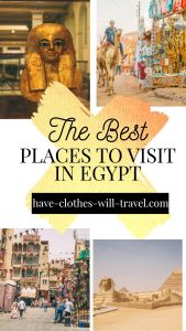 25 Awesome Places to Visit in Egypt (#1 Might Surprise You!)