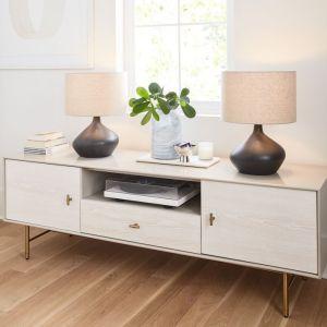 Asymmetry Ceramic Table Lamp - Small
