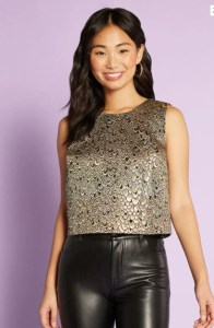 Flock To The Stage Crop Tank Top By ModCloth