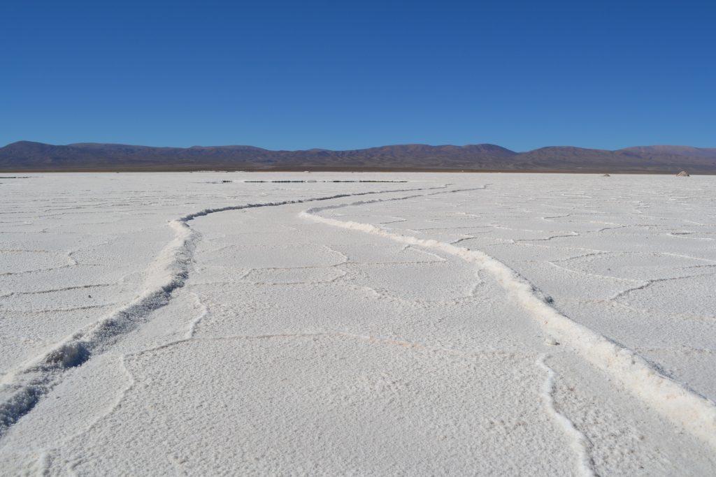 Salinas Grandes in argentina