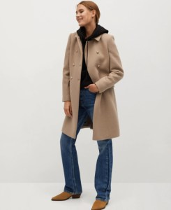 Wool double-breasted coat REF. 77047878-BOMBONS-LMCurrent price