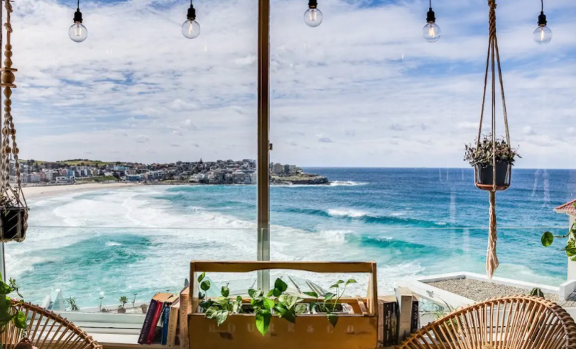 On Top Of The World Views in Bondi Airbnb