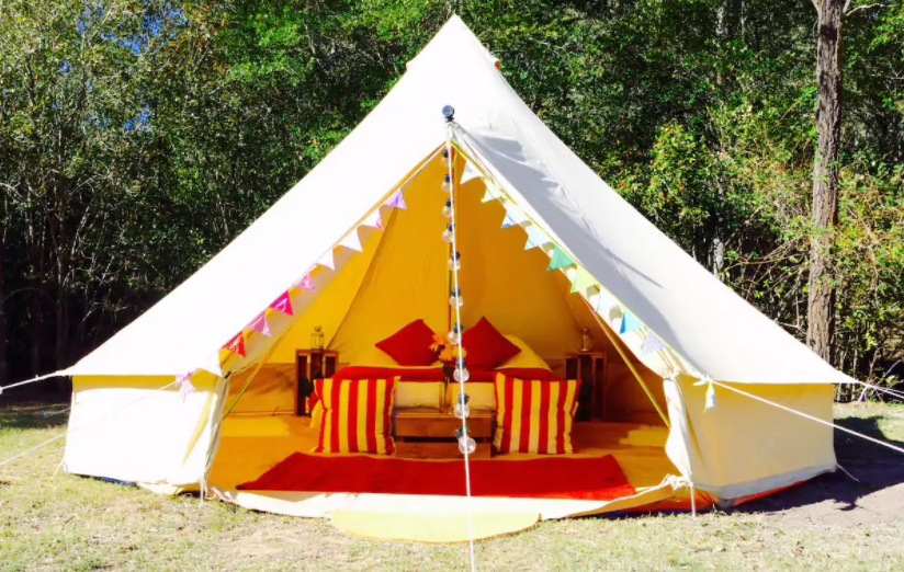 Luxury Glamping Bell Tent in Narrabeen