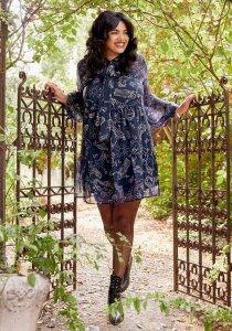 Glamour Goddess Mini Dress By ModCloth