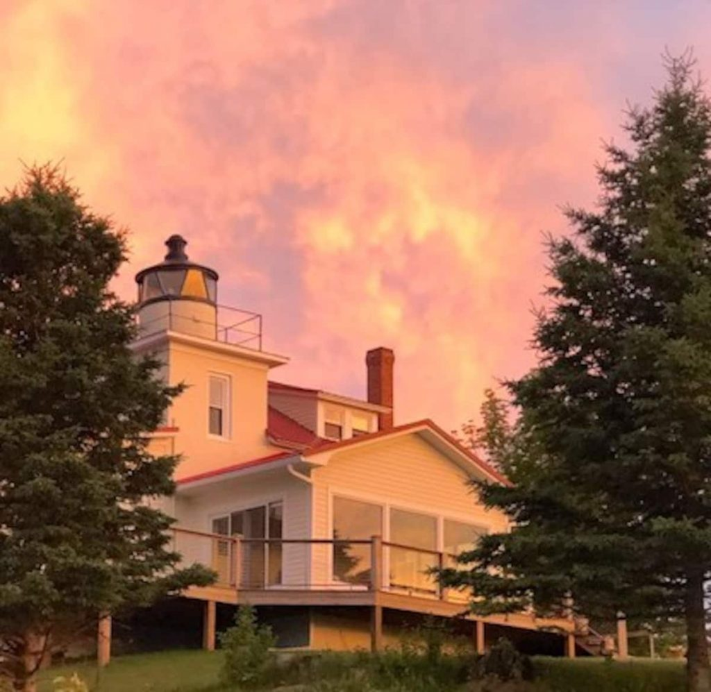 Stunning 1850's Eagle River Lighthouse