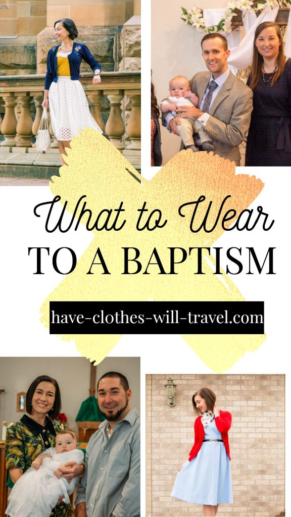 What to wear to a baptism or christening