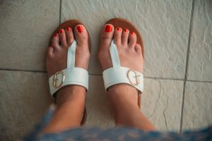 Sandals to wear in Turks and Caicos