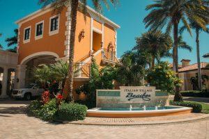 Beaches Turks and Caicos Italian Village Entrance