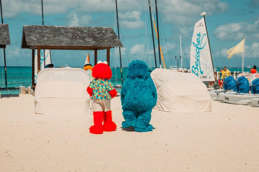 Sesame Street at Beaches